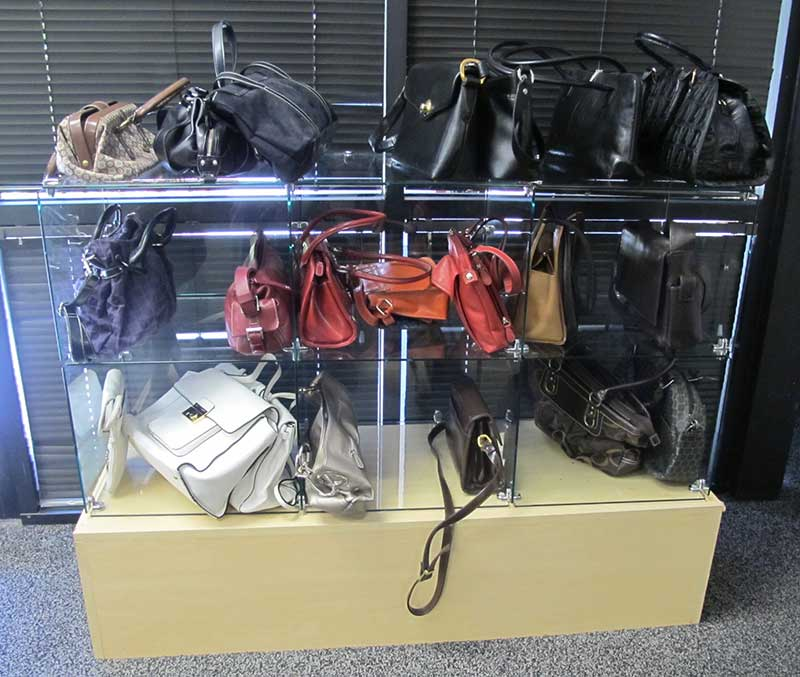 WHW Purses Before our Donation